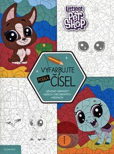 Listovanie Littlest Pet Shop - Vyfarbujte podľa čísel