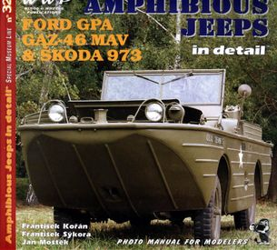 Amphibious jeeps in detail - ford gpa, gaz-46 mav, Škoda 973