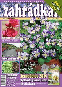 Zahrádkář č.03/2014 (e-vydanie)