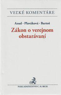 Veľké komentáre - Zákon o verejnom obstarávaní (SO_EVK11)