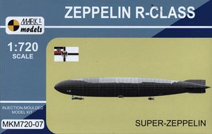 Stavebnica (1:720) Zeppelin R-Class Super-Zeppelin