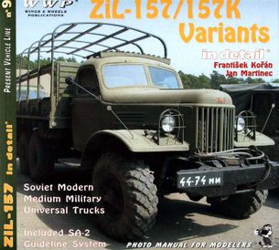 Zil - 157/157K variants in detail