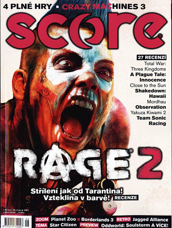 1c923595c časopis Score + DVD - predplatné - PRESS.SK