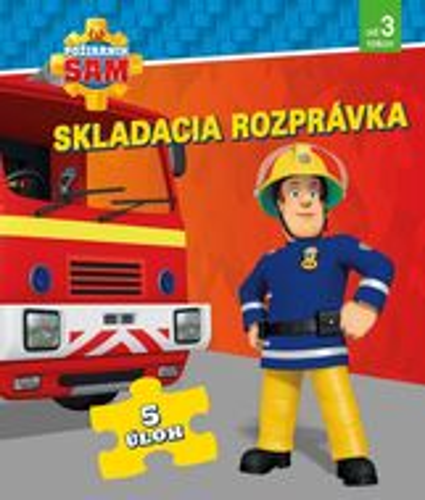 Požiarnik Sam - Skladacia rozprávka (s puzzle)