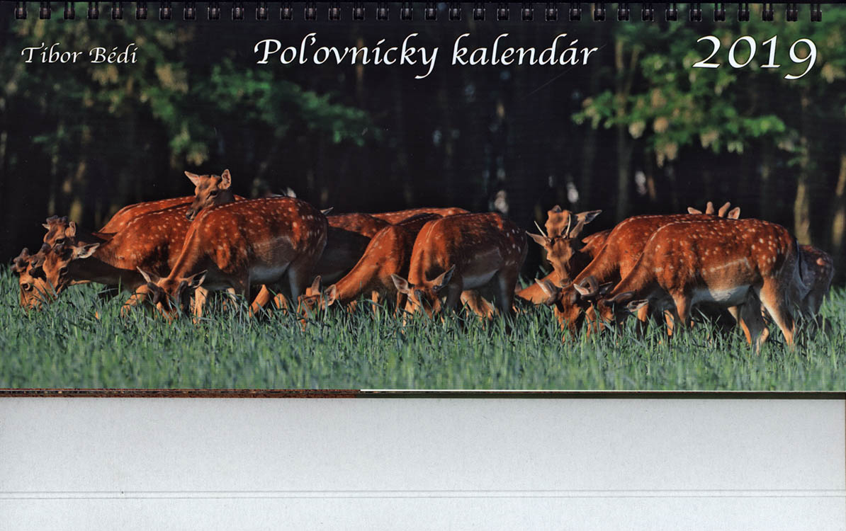 6f2edf938 Stolový kalendár (2019) poľovnícky - PRESS.SK