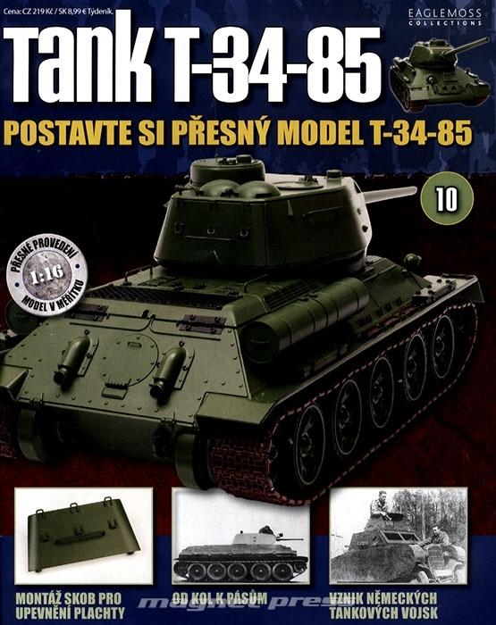 Tank T-34-85 č.10