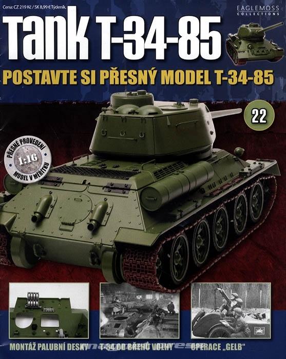 Tank T-34-85 č.22
