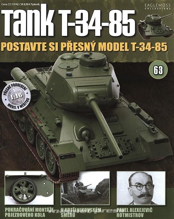 Tank T-34-85 č.63