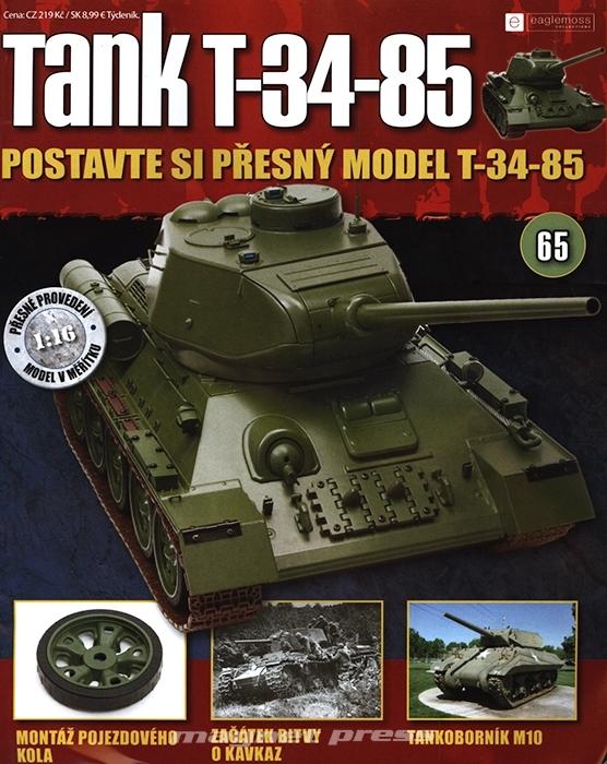Tank T-34-85 č.65
