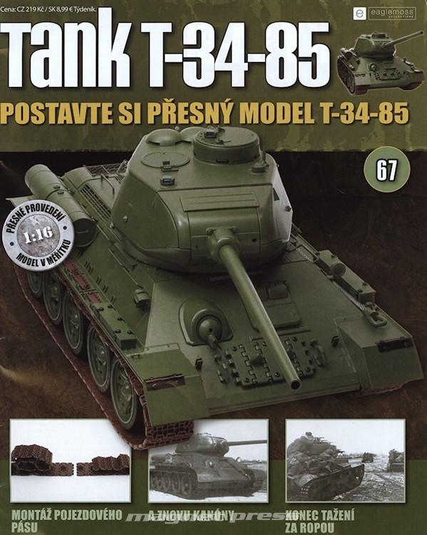 Tank T-34-85 č.67