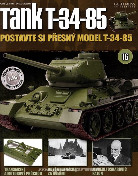 Tank T-34-85 č.16
