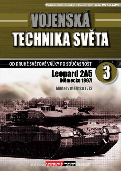 Vojenská technika světa č.3 - Leopard 2A5