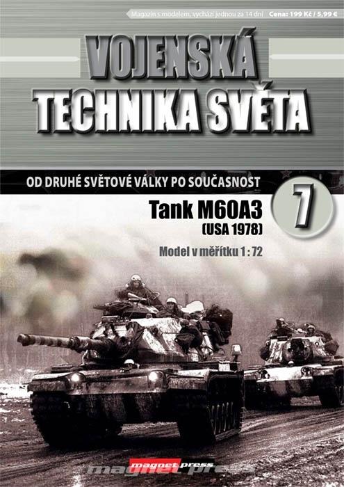 Vojenská technika světa č.7 - Tank M60A3
