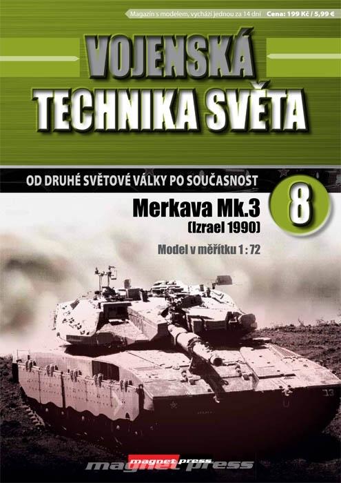 Vojenská technika světa č.8 - Merkava Mk.3