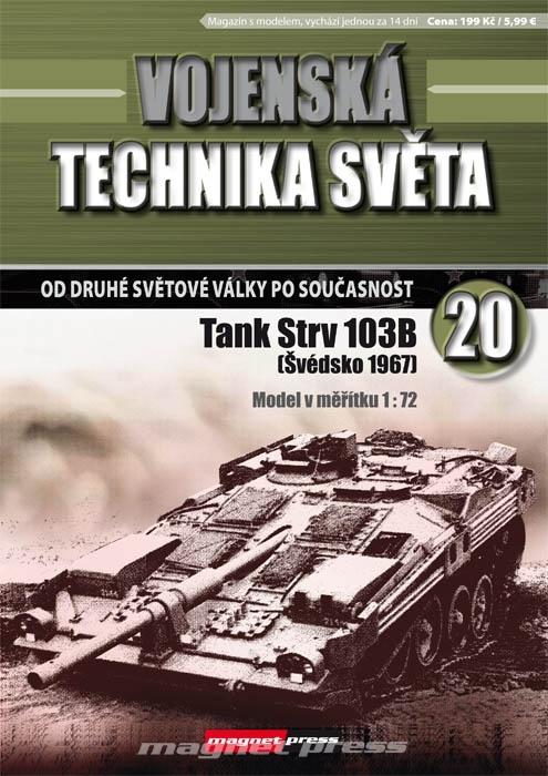 Vojenská technika světa č.20 - Hlavný bojový tank Strv 103