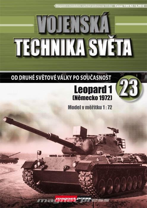 Vojenská technika světa č.23 - tank Leopard 1