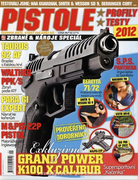 Pistole - Zbraně a náboje speciál 2012