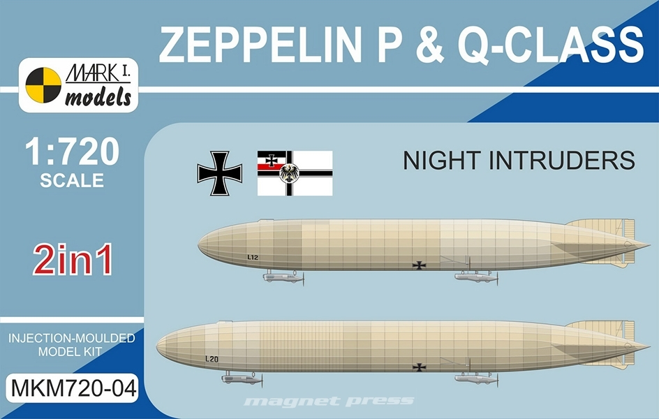 Zeppelin P & Q-class - Night Intruders